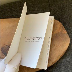 Authentic Louis Vuitton Address Book NWOT
